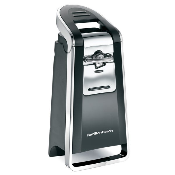 Shop Hamilton Beach Black Smooth Touch Electric Can Opener Free