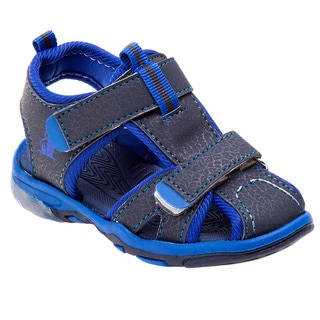 Rugged Bear Boys' Sandals with Lights