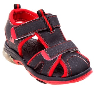 Rugged Bear Toddler Boys' Light-up Sandals