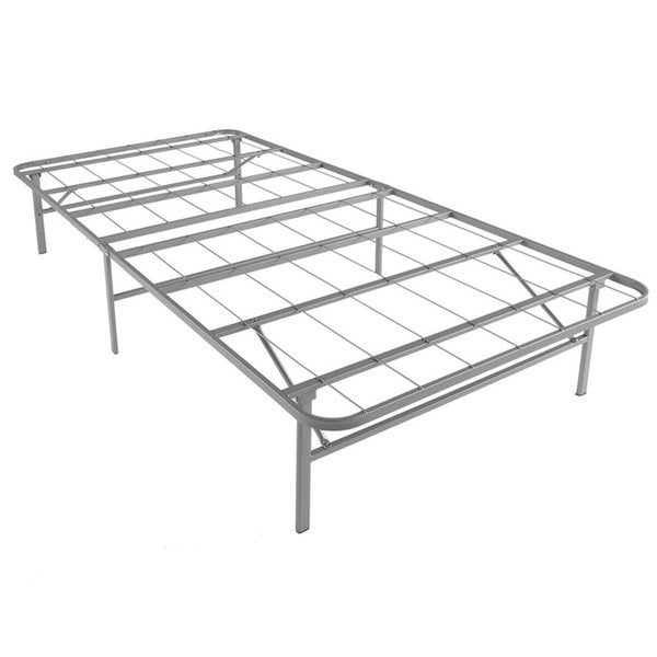 Shop Rize Platform Bed Base Twin No Box Spring Required - Free ...