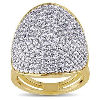 Miadora ITALIA Cubic Zirconia Geometric Ring in Sterling Silver