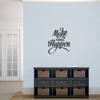 Make Things Happen' 20 x 24-inch Wall Decal