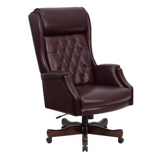 Obama Leather Office Chair Free Shipping Today Overstockcom