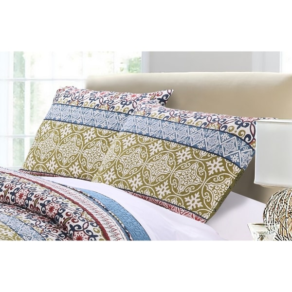 Greenland Home Fashions  Shangri-Lal Pillow Sham Set