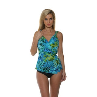 Miraclesuit Women's Junglemania Paramore Tankini Two-Piece