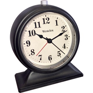 Westclox Decorative Table Top Alarm Clock