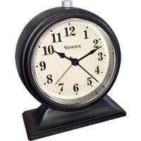Westclox Decorative Table Top Alarm Clock