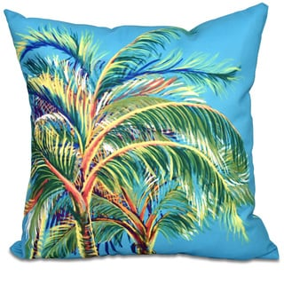 Vacation Floral Print 26-inch Throw Pillow