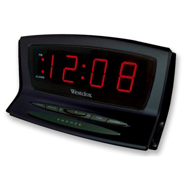 Westclox Instant Set / Auto Set Electric Alarm Clock