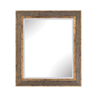 Dimond Home Cognac Rust and Gold Composite Frame Wall Mirror