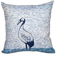 Bird Watch Animal Print 26-inch Throw Pillow