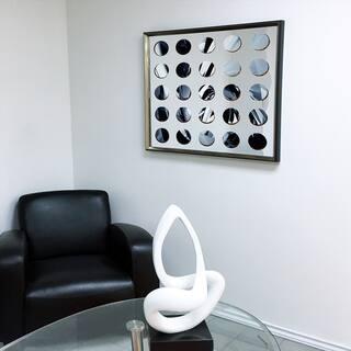 Designart - Modern Mirror 'Sunburst' Green Framed 3D Acrylic Mirror Art|https://ak1.ostkcdn.com/images/products/11482908/P18437362.jpg?impolicy=medium