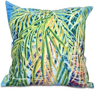 Malibu Floral Print 20-inch Throw Pillow