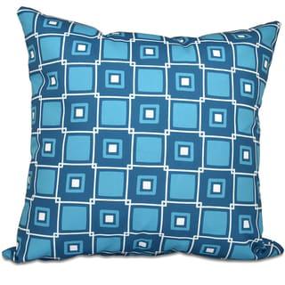 Square Pop Geometric Print 20-inch Throw Pillow