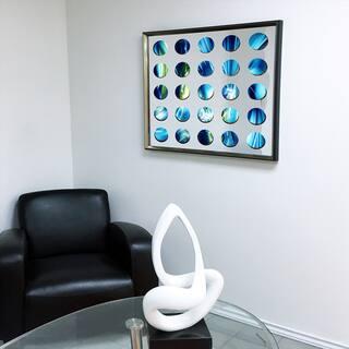 Designart Contemporary Mirror Blue Sky Framed 3D Acrylic Mirror|https://ak1.ostkcdn.com/images/products/11482978/P18437430.jpg?impolicy=medium