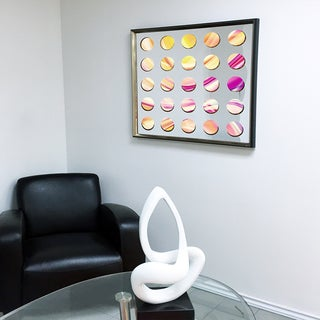 Designart Contemporary Mirror Digital Art Framed 3D Acrylic Mirror