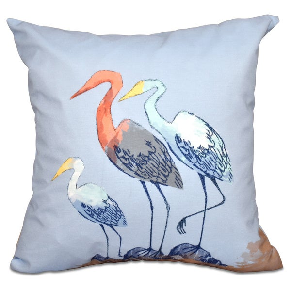 Sunbathers Animal Print 20-inch Throw Pillow
