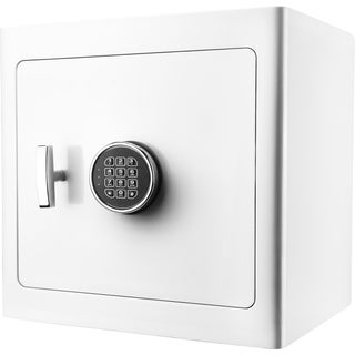White Keypad/ Light Interior Jewelry Safe