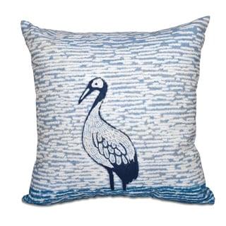 Bird Watch Animal Print 20-inch Throw Pillow