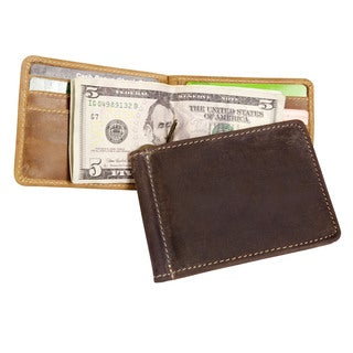 Canyon Outback Bryce Canyon RFID Security Blocking Leather Money Clip Wallet