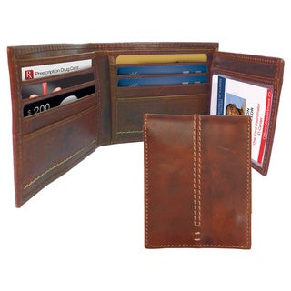 Canyon Outback Leather Burr Canyon Leather Zippered Wallet