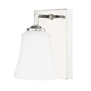 Austin Allen & Company Jaxon Collection 1-light Polished Nickel Wall Sconce