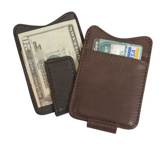 Canyon Outback Leather Copper Breaks Magnetic Leather Money Clip