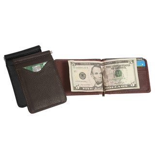 Canyon Outback Leather Cheyenne River Leather Money Clip Wallet
