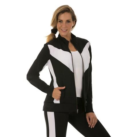 Instantfigure Women's Compression Zip Up Jacket