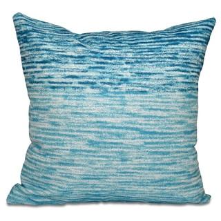 Ocean View Geometric Print 18-inch Throw Pillow