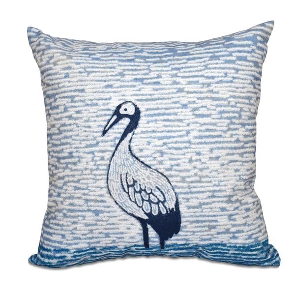 Bird Watch Animal Print 18-inch Throw Pillow