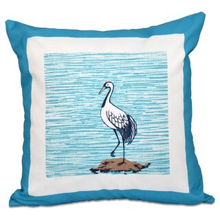 Sandbar Animal Print 18-inch Throw Pillow