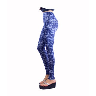 Le Nom Rose Pattern Leggings