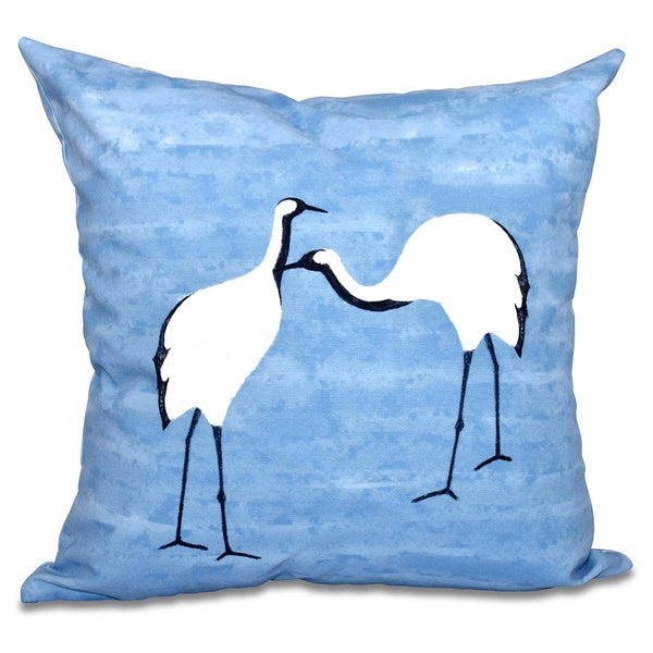 Stilts Animal Print 18-inch Throw Pillow