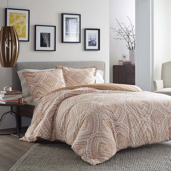 City Scene Sari Cotton Comforter Set