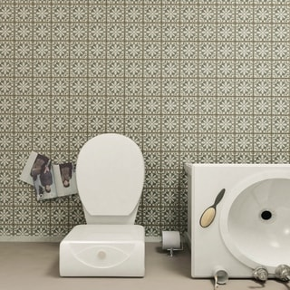 SomerTile 4.875x4.875-inch Chronicle Zahra Ceramic Floor and Wall Tile (Case of 32)