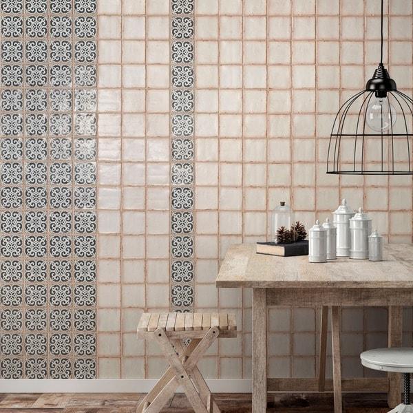 Somertile 4 875x4 875 Inch Chronicle Bakula Ceramic Floor