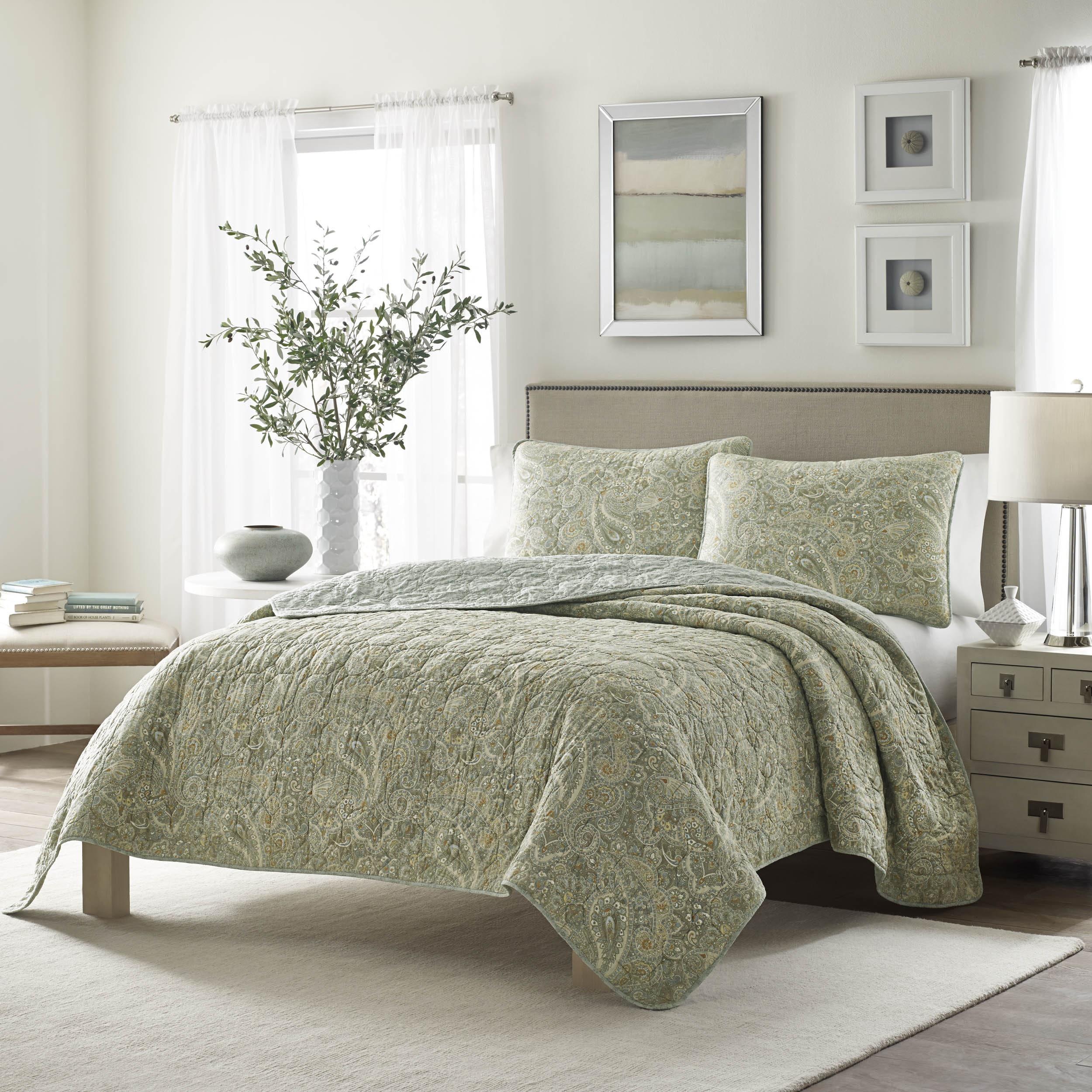 Stone Cottage Emilia Cotton Quilt Set (King), Blue