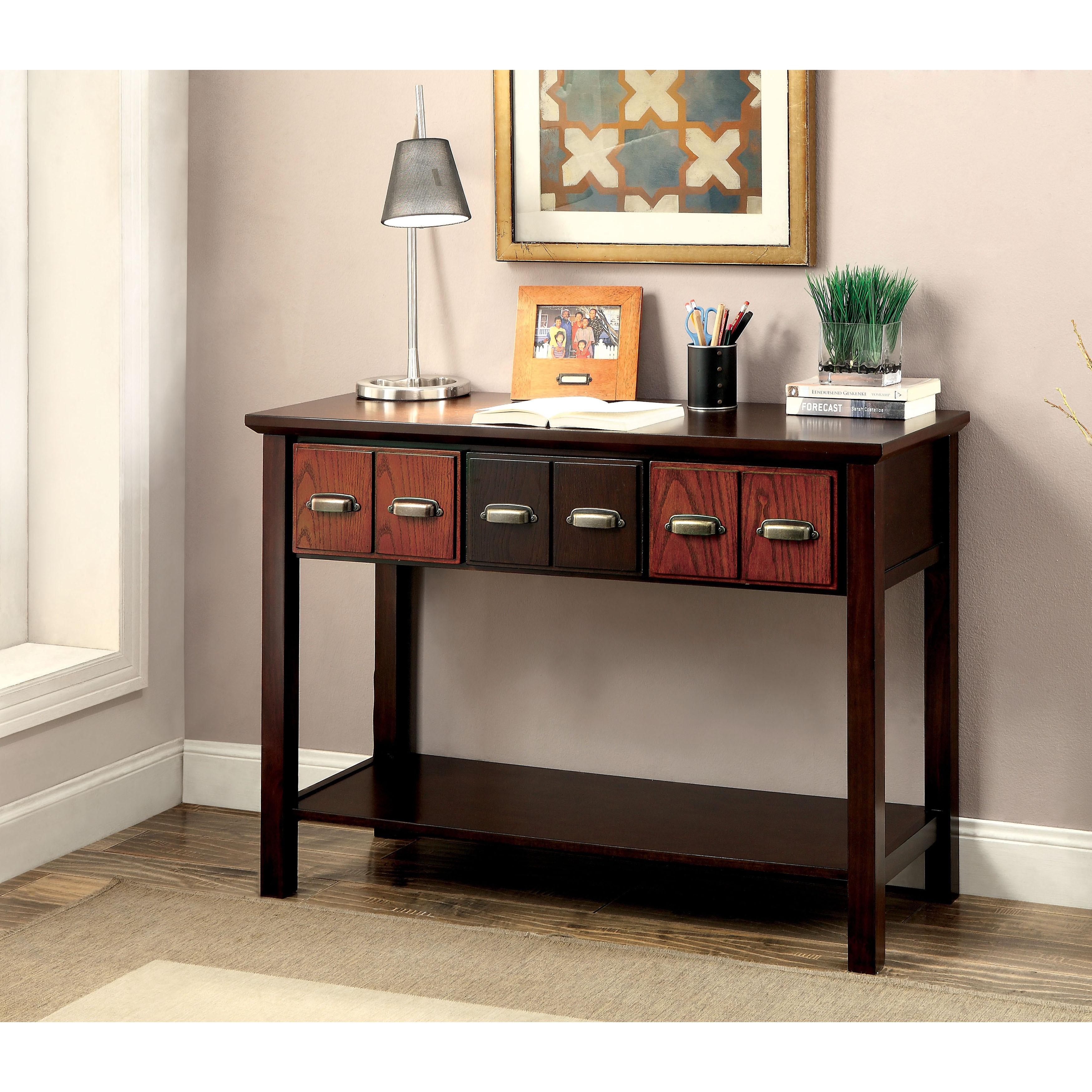 Furniture of America Marcella Transitional Two-Tone 3-dra...