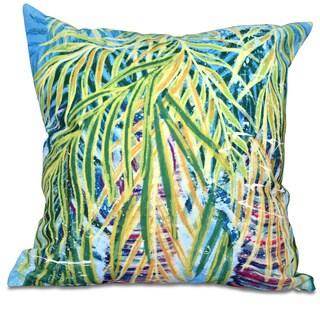 Malibu Floral Print 16-inch Throw Pillow