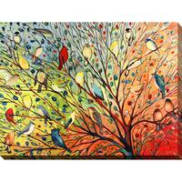Jennifer Lommers '27 Birds' Giclee Print Canvas Wall Art