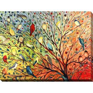 Jennifer Lommers '27 Birds' Giclee Print Canvas Wall Art
