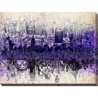 Bekim Mehovic 'Nyc Tribute Skyline II' Giclee Print Canvas Wall Art