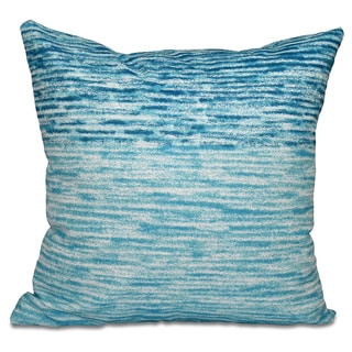 Ocean View Geometric Print 16-inch Throw Pillow