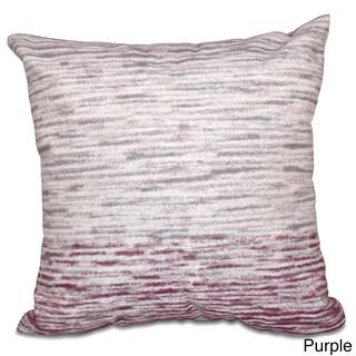 Ocean View Geometric Print 16-inch Throw Pillow (Option: Purple)