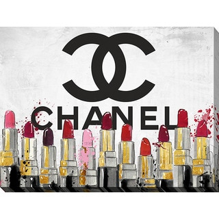 Shop By Jodi Chanel Lipsticks Giclee Print Canvas Wall