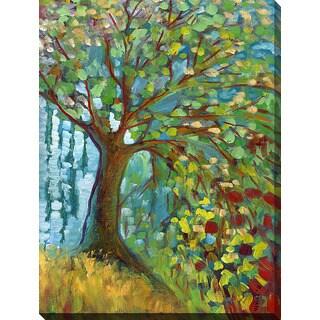 Shop Jennifer Lommers Blue Autumn Giclee Print Canvas