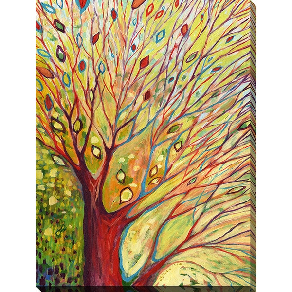 Shop Jennifer Lommers \'Rainbow Tree In Autumn\' Giclee Print Canvas ...