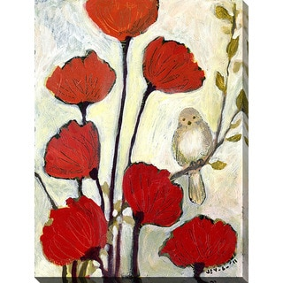 Jennifer Lommers 'Under The Poppies No2' Giclee Print Canvas Wall Art