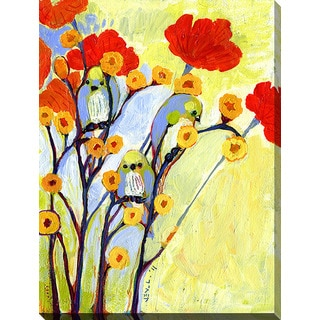 Jennifer Lommers 'Under The Poppies' Giclee Print Canvas Wall Art